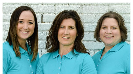 Chiropractors Lakeville MN Jill Hammes, Betsy Oakland-Garey and Emily Huseth