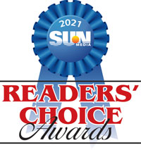 2021 Sun Readers' Choice Award